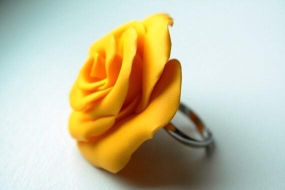 Sunflower Rose - Ring