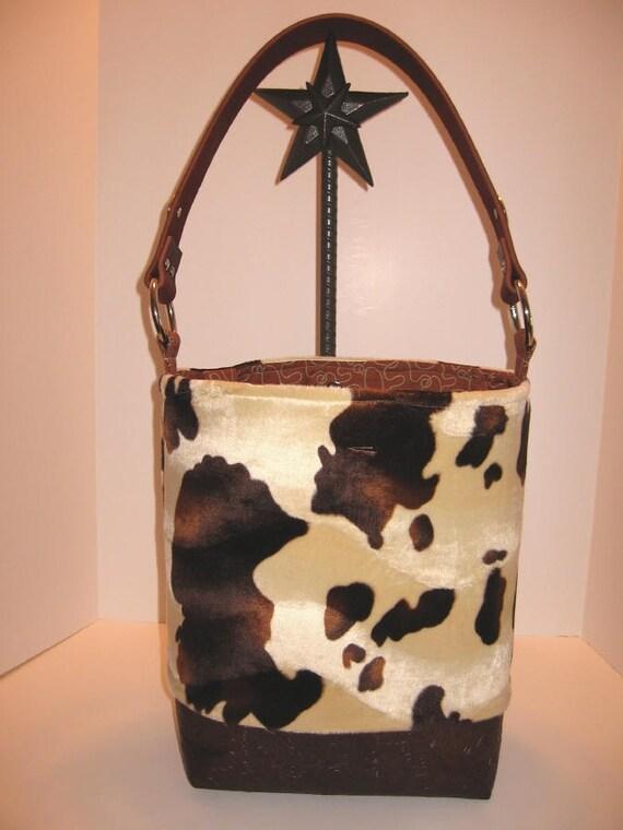 Cowboy Diaper Bags : Cowboy baby faux cowhide diaper bag reserved custom by