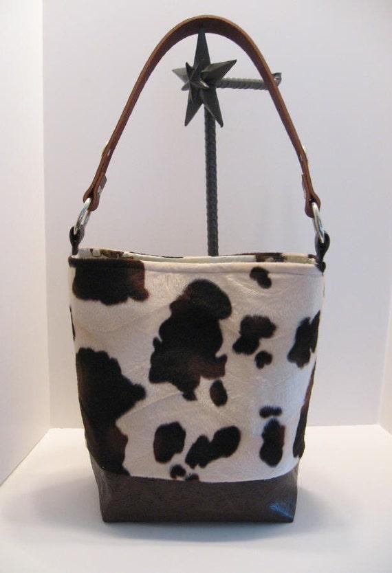 Cowboy Diaper Bags : Cowboy baby faux cowhide bullrider diaper bag tote