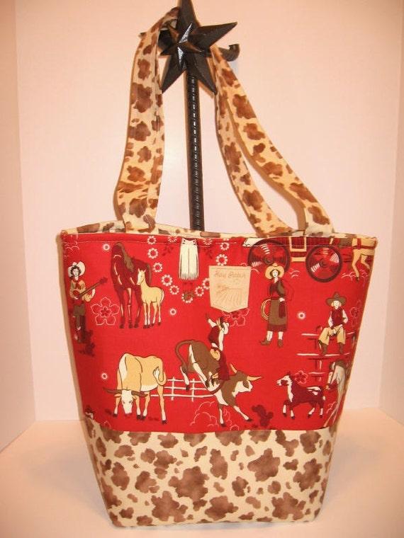 Cowboy Diaper Bags : Western cowboy cowgirl tote diaper bag