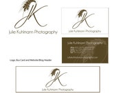 Professional Logo Design with Business Card and Blog Header