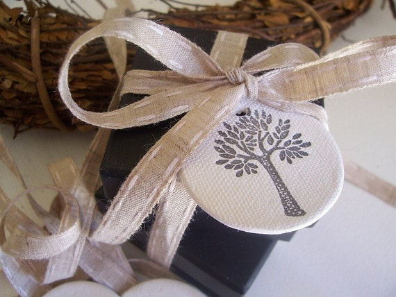 Sweet Tree CERAMIC Tags - Set of 3