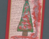 Holiday  Greetings - Tree Note Card