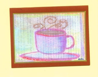 Morning Ritual Fine Art Note Card