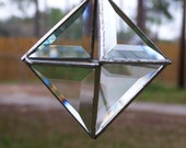 Beveled glass suncatcher