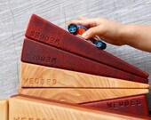 Natural Organic Hardwood Ramp Blocks 'Wedges'
