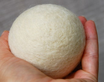 Needle Felted Blank Jingle Ball for your Own Project Made to Order