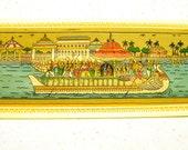 Vintage Chandan Jatra (Sandal Bathing Ritual) Blank Card - Unused with matching envelope