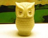 Vintage Avon Owl with Gold Eyes