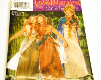 Fairy Costumes - Simplicity Pattern 0527 Design by Andrea Schewe (Sz HH 6,8,10.12)