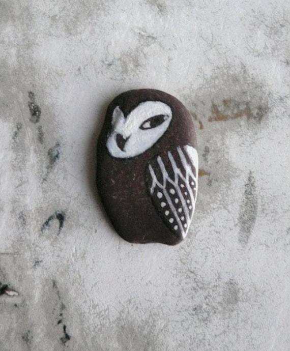Flat Beach Slate Owl