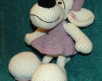 INSTANT DOWNLOAD PDF - Diddlina - 11.6 inches / 29 cm amigurumi doll crochet pattern