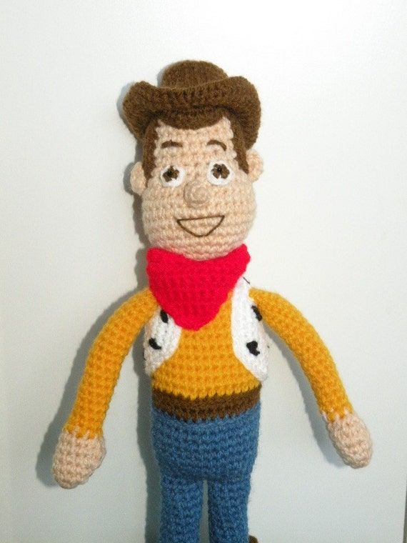 PDF - Woody from Toy Story - 15 inches amigurumi doll crohet pattern