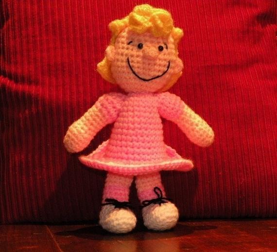 PDF - Sally Brown from Peanuts - amigurumi doll crochet pattern