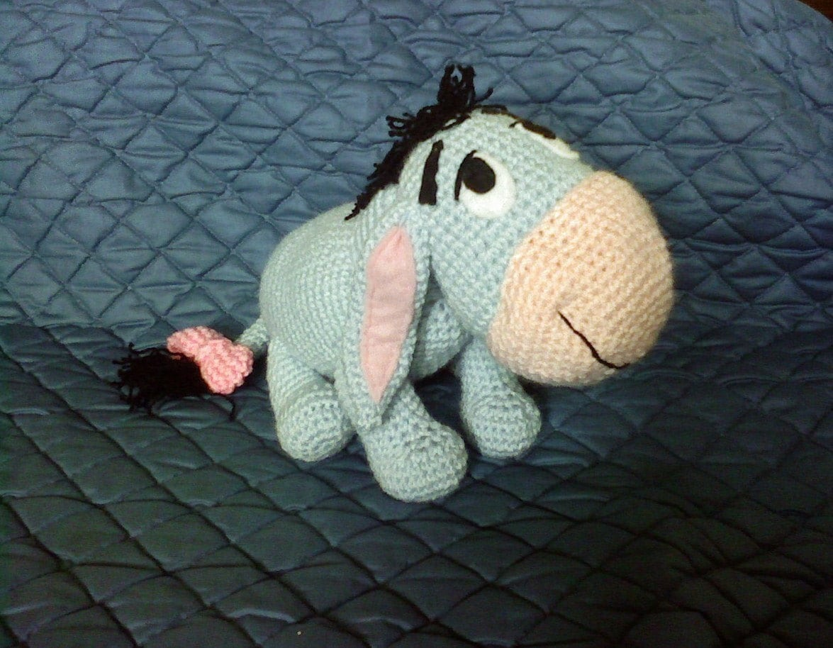 Pdf Instant Download Eeyore From Winnie The Pooh Donkey