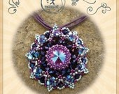pendant tutorial / pattern Gracian pendant – PDF instruction for personal use only