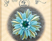pendant tutorial / pattern Placid pendant...PDF instruction for personal use only