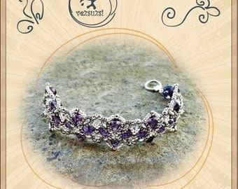Bracelet tutorial / pattern Eugene bracelet...PDF instruction for personal use only