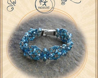 bracelet tutorial / pattern Jobbtazár bracelet...PDF instruction for personal use only