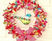Fabric wreath  --  PDF Sewing pattern