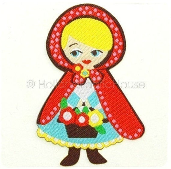 Little Red Riding Hood iron-on transfer