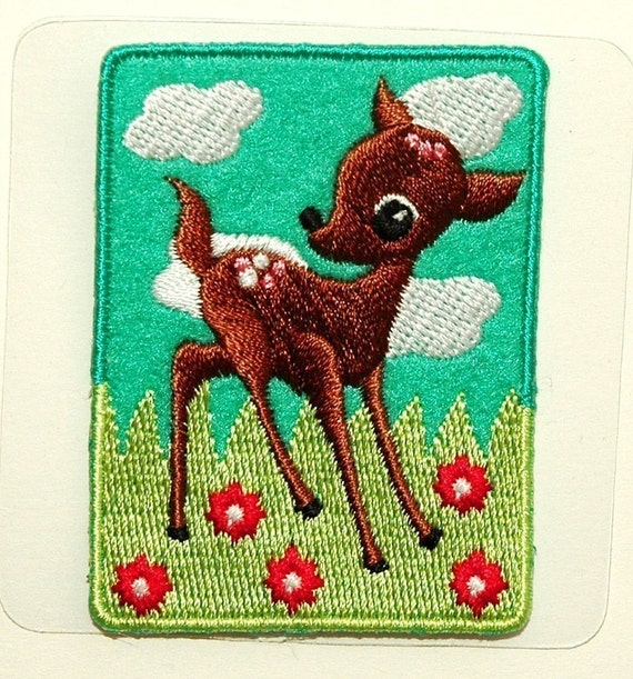 Cute Deer iron-on transfer