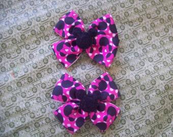 Cute Minnie Mouse Hair Clips