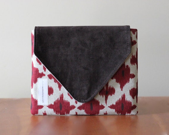iPad Case Recycled Leather & Southwestern Cotton Padded Sleeve for Your EReader
