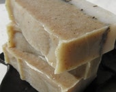CLEARANCE Rosemary and Oatmeal - 4 oz Cold Process Soap Bar (Vegan Friendly)