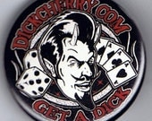 Devil Man Pin