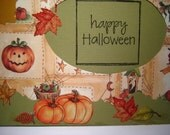 HappY Halloween  Greeting Card Blank