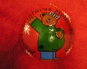Pregnant Mom Bear Ornament-Mom to Be (Item number 505)