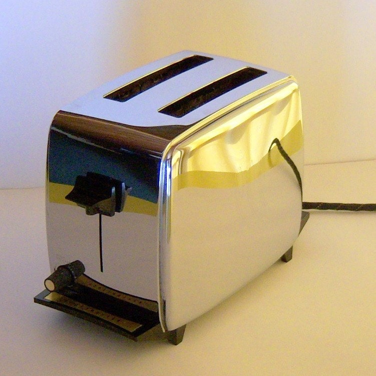 Toaster Plugged In ~ Chrome toastmaster toaster