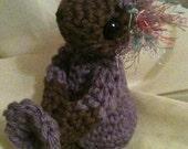 Little Fuzz-Head Amigurumi Crocheted Doll