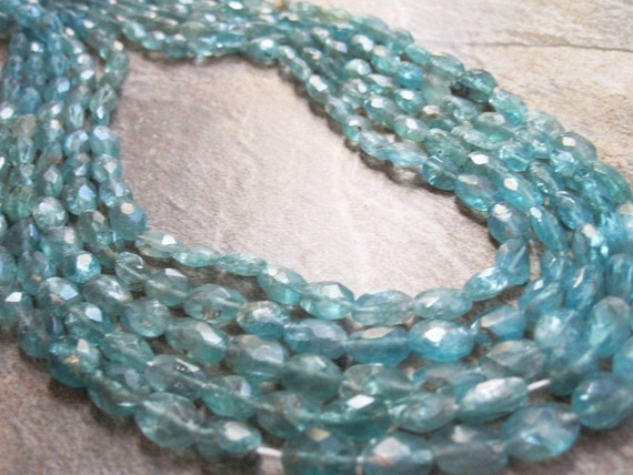Apatite Faceted Ovals