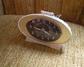 Vintage 50s Oval GE Bedside Clock