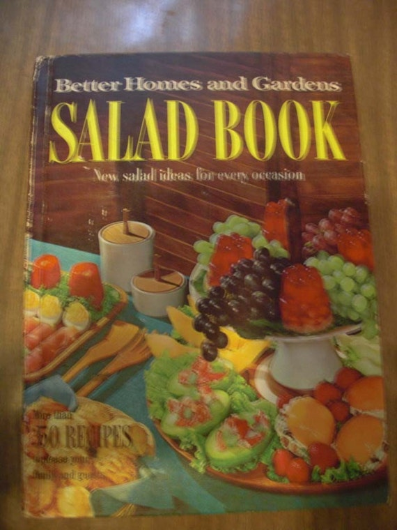 Book sale better homes and gardens salad book 1968 with bonus - Better homes and gardens cookbook 1968 ...