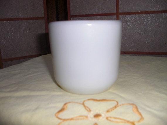 Vintage Wwii Navy White Corning Mug No Handle
