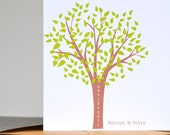 Wedding Thank You Cards - Carved In Blossomed Tree