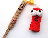 Punky and KaBOOM Firecracker Amigurumi Explosive Plush Toy Knitting Pattern PDF Digital Download