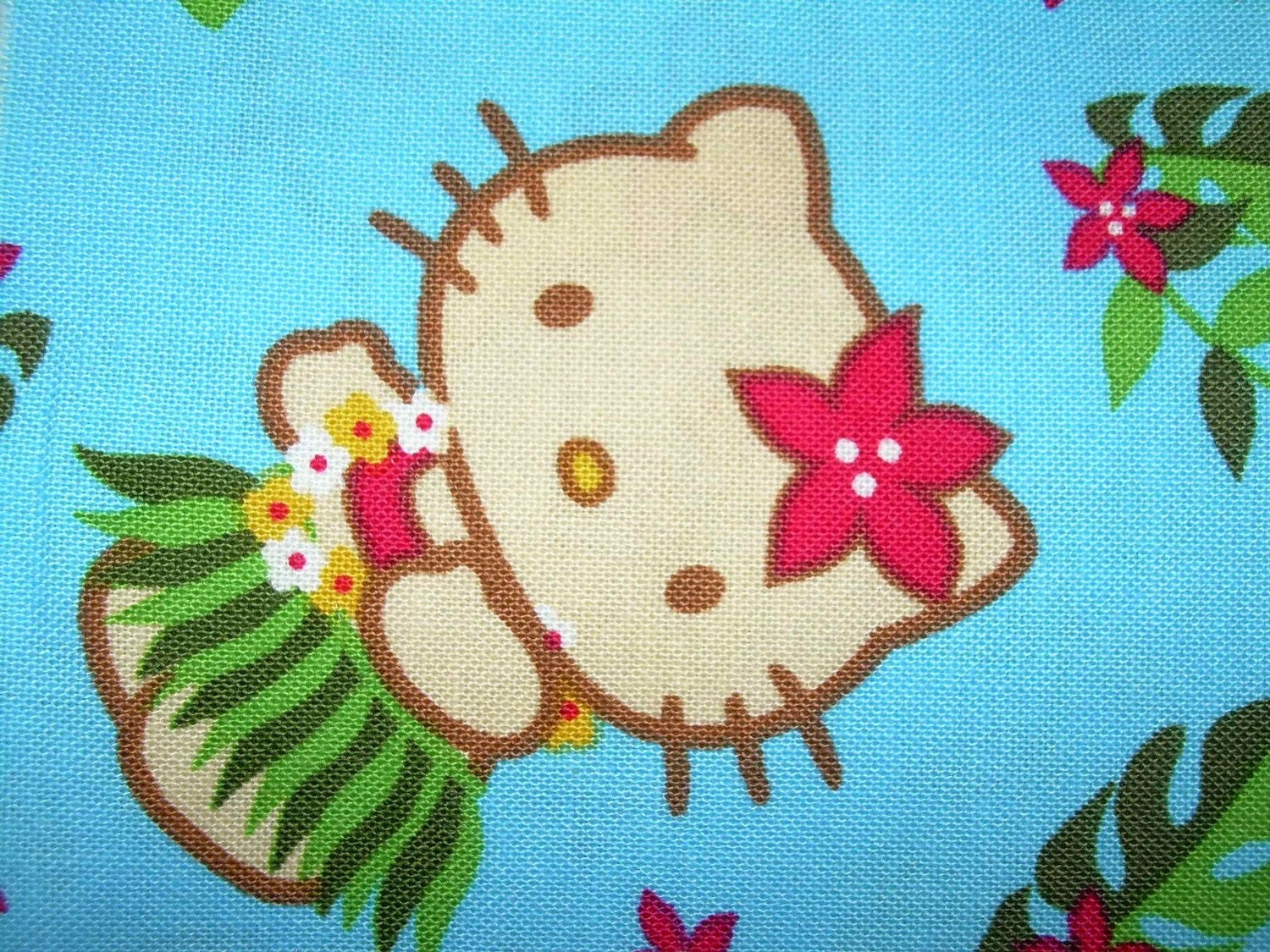 hula hello kitty coloring pages-#29