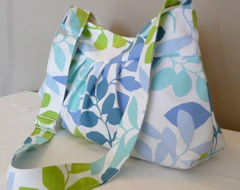 FRESH...Everyday Bag , Shoulder Bag, Green, Blue, Turquoise, White