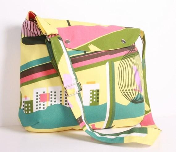 Canvas Messenger bag, School bag ,Shoulder bag ,Travel bag, canvas, adjustable strap