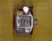 Counting Counter Vintage Mechanical Hand Held