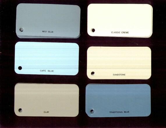 Lot 149 Metal Tags Vintage Reynolds Aluminum Siding Samples
