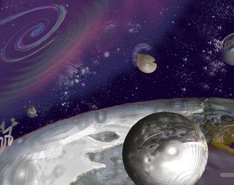 Galactic landscape 2