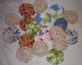 16 Face Scrubbies Make-Up Remover Pads Reuseable Washable Environmental Friendly ALL SKIN TYPES