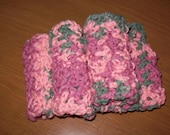 Coral Reef Dish Cloth set of 3