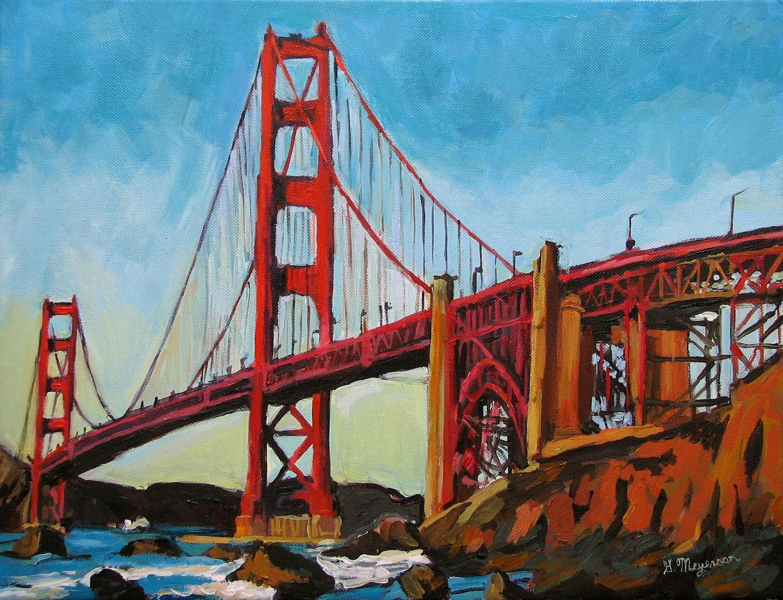 Golden Gate Bridge San Francisco Fine Art Print By