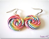 Rainbow Lollipops Earrings